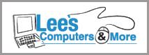 Lee's Computers And More Logo